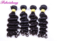"Black Long Brazilian Curly 8A Virgin Hair Weave Can Be Restyled 8"" - 40"""